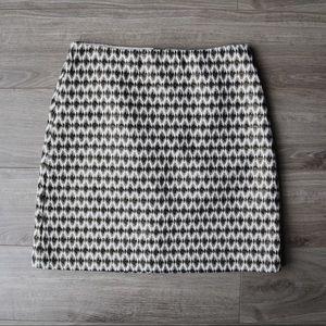 Loft Gold Mini Skirt